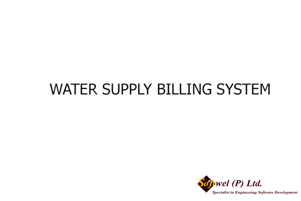 WATER SUPPLY BILLING SYSTEM , 2009