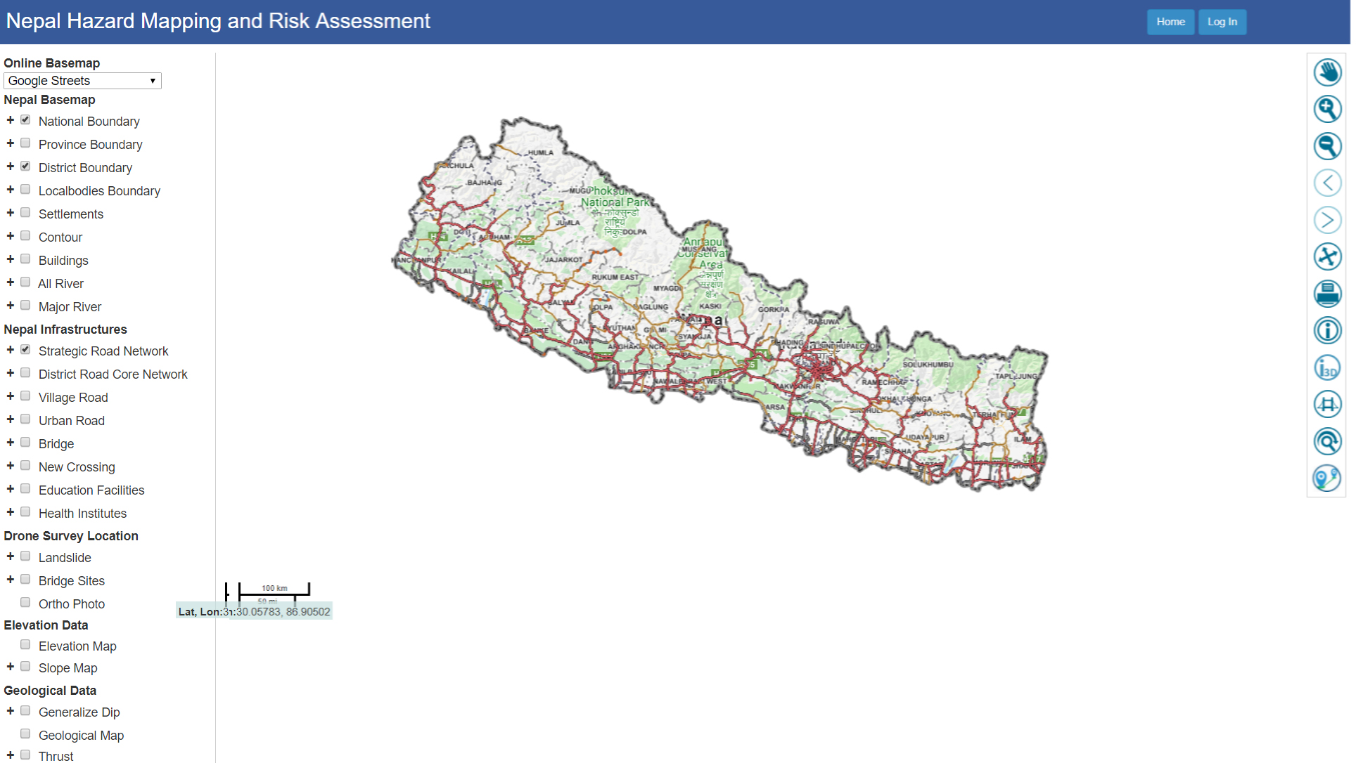 NEPAL HAZARD MAPPING AND RISK ASSESSMENT